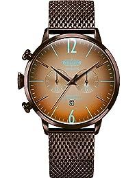 67463313496a WWRC415 Welder Moody - Reloj para hombre en acero con acabado IP marró
