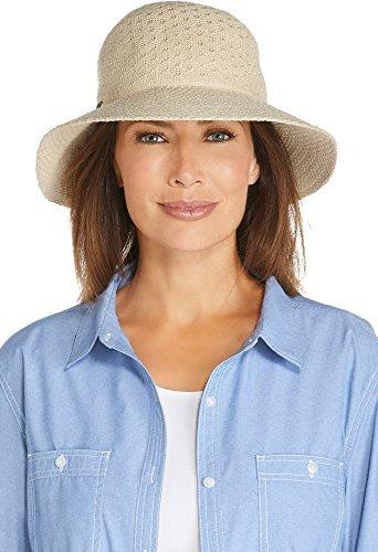 Coolibar Damen UV-Schutz Sonnenhut, beige, One Size