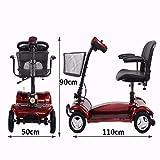 Cww Elektrischer Rollstuhl Für Ältere Behinderte Leichte Falt Riemen Fahren Den Älteren Roller