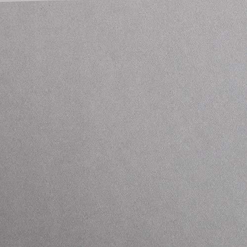 Clairefontaine 97862C Packung (mit 25 Bögen Zeichenpapier Maya, DIN A1, 59,4 x 84 cm, 120g, glatt, ideal für Trockentechnik und Einrahmen) grau