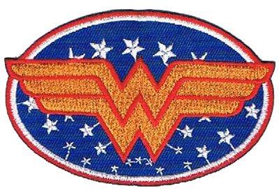 Aufnäher Bügelbild Aufbügler Iron on Patches Wonder women