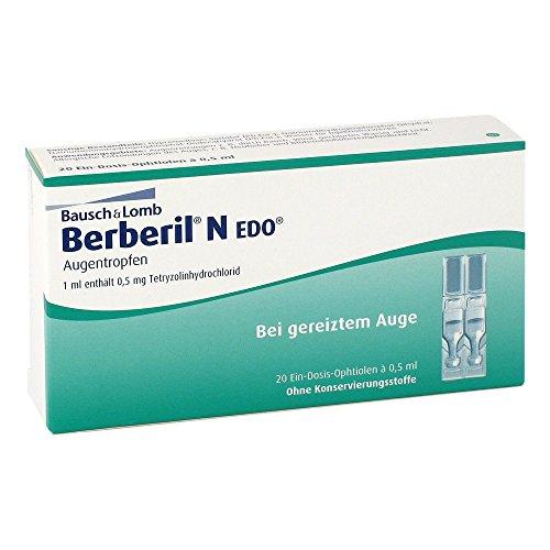 Berberil N EDO Augentropfen 20X0.5 ml