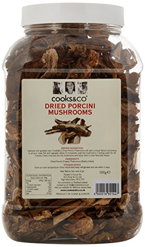 Cooks & Co Dried Porcini Mushrooms 500 g
