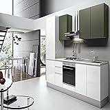 Küchenschrank Zusammensetzung K0002Farbe glänzend Compreso Elettrodomestici