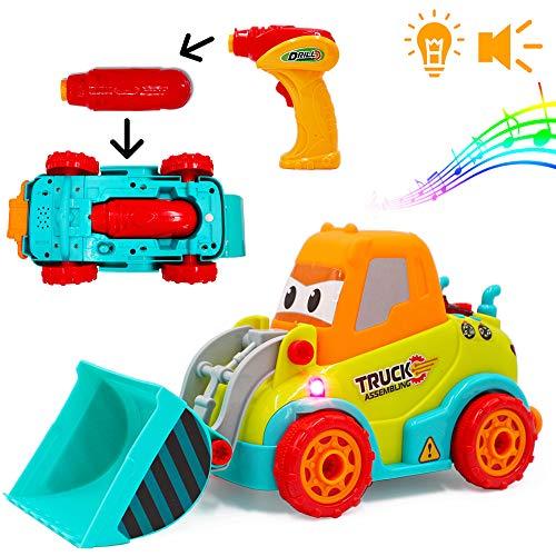 deAO RC Camion de Construction Radiocommandé 2en1 pour...