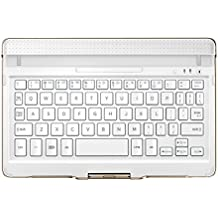 Samsung Tab S (8.4 Zoll) - Tastatur-Schutzhülle - Bluetooth-Tastatur und Halterung, weiß - EJ-CT700MWEGDE
