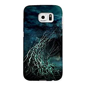 Delighted Tree Horror Back Case Cover for Samsung Galaxy S6