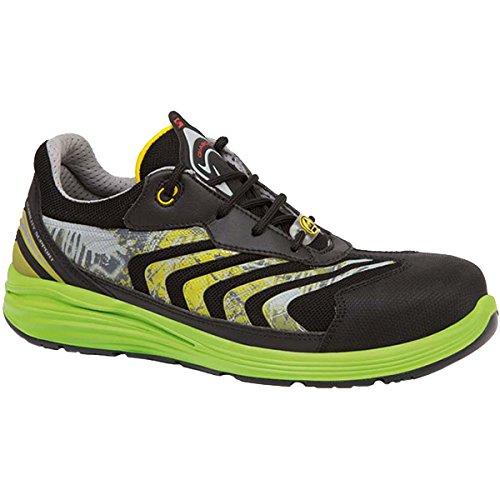 Giasco UP071EV45 Virgo Chaussures de sécurité bas S1P Taille 45 Noir/Vert