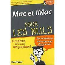 Mac et Imac poche pour les nuls