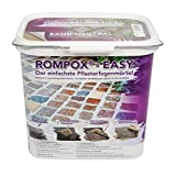 ROMPOX - EASY 1K Pflasterfugenmörtel 15 kg - Sand-neutral - ist ein fix und fertig gemischter 1-Komponenten Pflasterfugenmörtel.