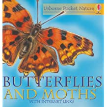 Butterflies and Moths (Usborne pocket nature with Internet links)