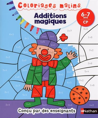 Download coloriages malins additions magiques cp pdf kvannoak - Coloriages magiques additions ...