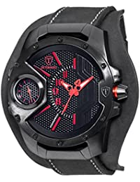 DETOMASO Steppenwolf XXL - Reloj Man's Man Young Guns para hombre, color negro