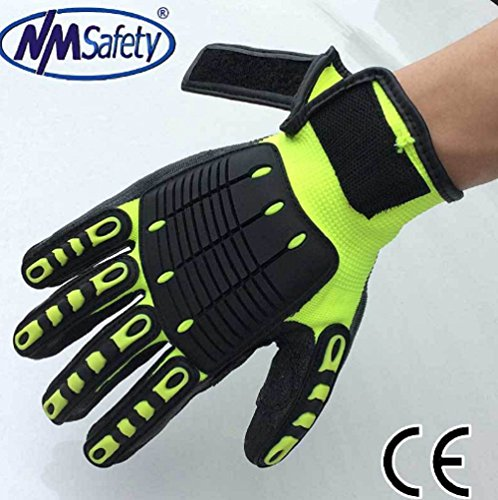 Safety Anti Vibration Working Gloves Vibration and Shock Gloves (10XL)