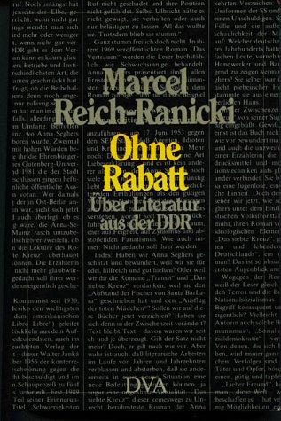 Ohne Rabatt: Über Literatur aus der DDR
