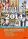 Actualité 2014 - Concours et examens 2015 - Tous les événements incontournables de 2014 par Klinger