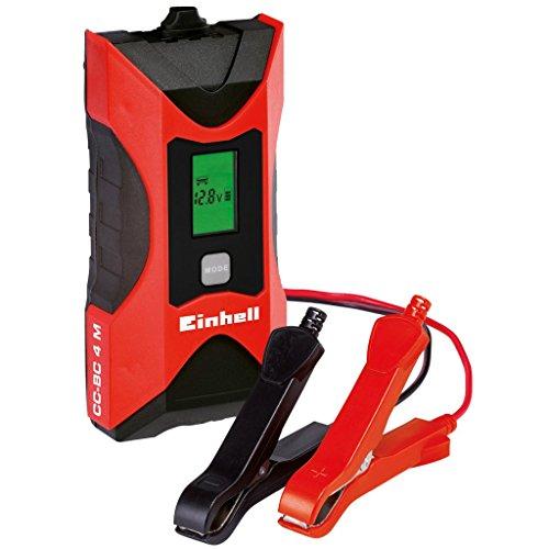 Caricabatterie 6V 12V mantenitore di carica batterie max 120Ah auto moto Einh