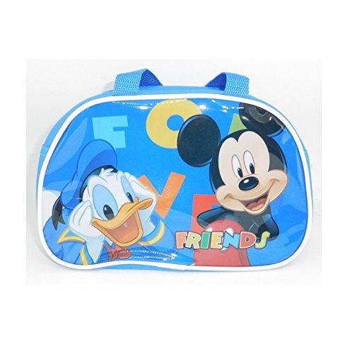 Sac à goûter pour Enfant Mickey Donald Disney - 23x20x9cm - avec poignée - 719