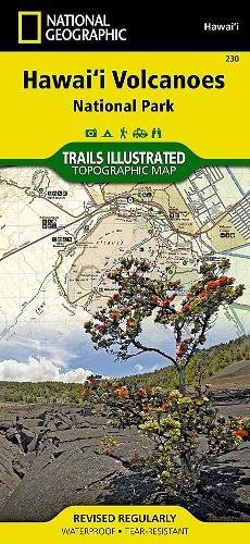 Hawaii Volcanoes National Park: National Geographic Trails Illustrated National Parks (National Geographic Trails Illustrated Map, Band 230)