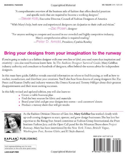 Fashion Designer Survival Guide: Start and Run Your Own Fashion Business