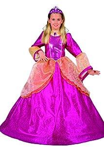FIORI PAOLO 26202-Princesa Rubí, disfraz de niña 3-4 anni Rosa