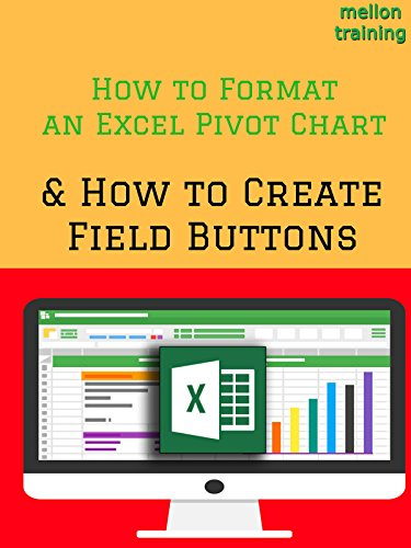 How to Format an Excel Pivot Chart & How to Create Field Buttons [OV]