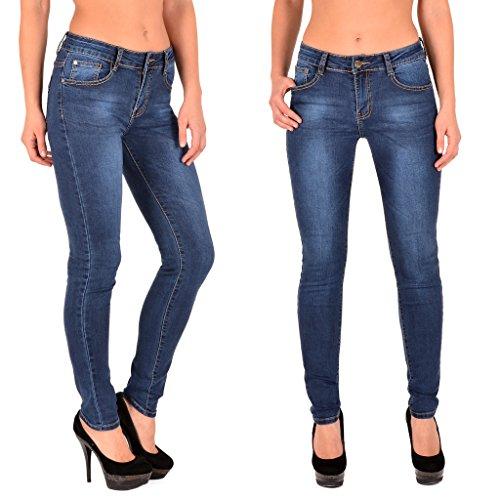 by-tex Jean femme skinny High waist Jeans femmes taille haute pantalon grande taille 48, 50, 52 # S200 J284