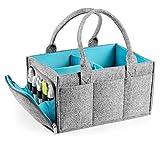 Baby-Windelablage, tragbare Filztasche für Kinderzimmer, Windel-Organizer für Aufbewahrungskörbe, Wickeltisch, Baby-Dusche, Geschenkkorb, Neugeborene