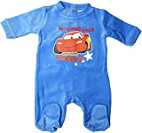 Disney Cars Pyjama/Schlafanzug / Strampler - Baby Lightning Mc Queen No speeD Limit - Blau