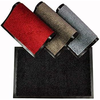 casa pura tapis d 39 entr e mono noir qualit lev e. Black Bedroom Furniture Sets. Home Design Ideas