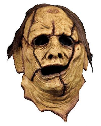 Texas Chainsaw Massacre Skinner Maske für Halloween (Texas Chainsaw Masken)