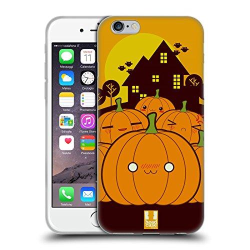 �rbis Im Ganzen Halloween Kawaii Soft Gel Hülle für Apple iPhone 6 / 6s (Einfach Kürbis-designs)