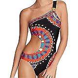 NPRADLA Leisure Trend Donna Stampa Costume da Bagno Monospalla Body Costume da Bagno Beachwear Sconto Primavera Estate 2019