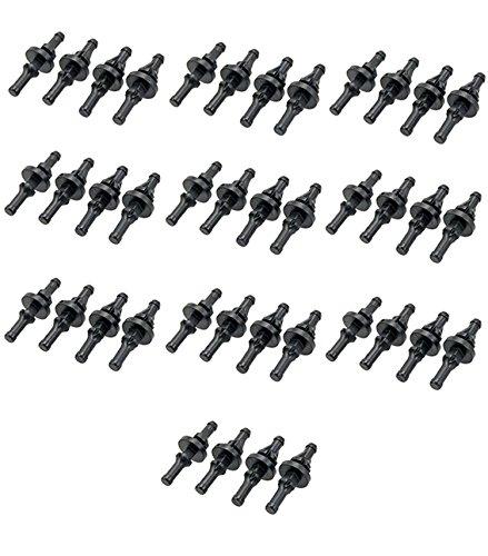 com-four Entkopplung für Lüfter Aller Größen von 60 bis 120mm (40 Stück) - 2 Größe 8 1 Hüte Ausgestattet