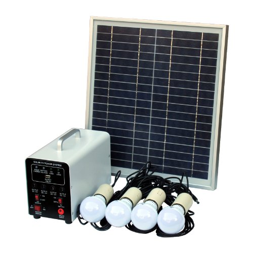 15W-Off-Grid-Solar-Lighting-System-with-4-LED-Lights-Solar-Panel-Battery-and-Cables-Complete-Solar-Lighting-Kit