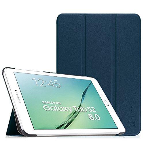 """custodia per tablet 8 pollici Fintie Samsung Galaxy Tab S2 8.0 Custodia - Ultra Sottile Di Peso Leggero Tri-Fold Smart Case Cover Sleeve Con Funzione Sleep/Wake per Samsung Galaxy Tab S2 8.0"""" (8 pollici) Tablet"""