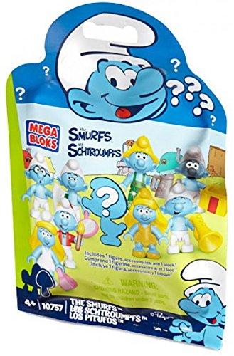 Mega Bloks Smurfs Blind Pack Figures. 24PCs/Display Box