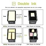 RRYQL Reemplazo Cartuchos de Tinta HP 301XL (CH563EE CH564EE)Cartucho de tinta muestra el nivel de...
