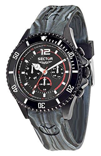 Sector R3251161017 - Reloj con correa de goma, para hombre, multicolor