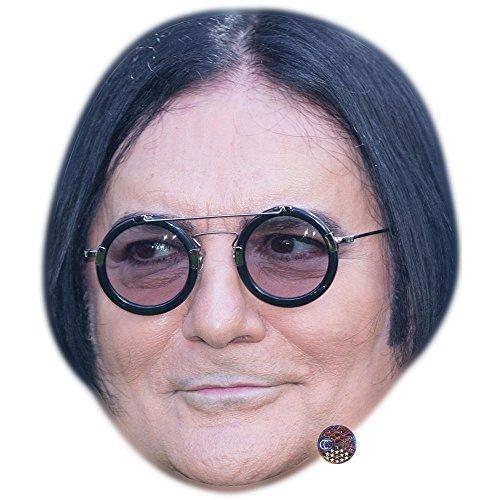 Zero Maske - Celebrity Cutouts Renato Zero Maske aus