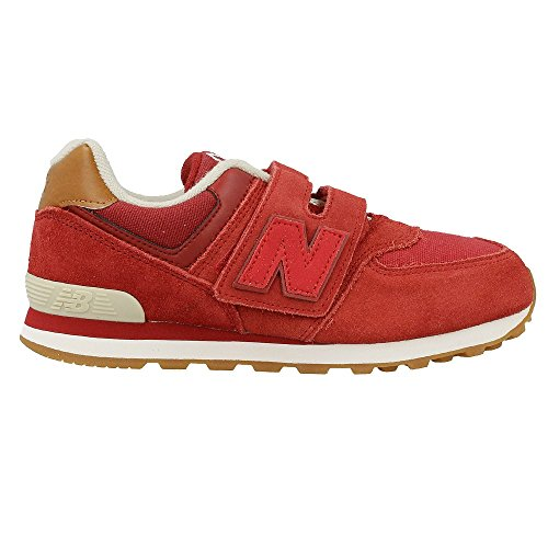 NEW BALANCE KV574 NJY bébé baskets ripper rouge Rouge