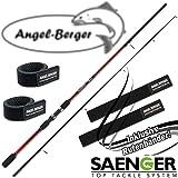 Sänger Sensitec Zander 20-60g Spinnrute mit Angel Berger Rutenband (2,70m / 20-60g)