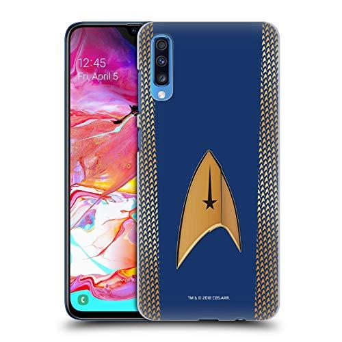 Head Case Designs Offizielle Star Trek Discovery Kommando Uniformen Harte Rueckseiten Huelle kompatibel mit Samsung Galaxy A70 (2019) (2019 Uniform Star Trek)