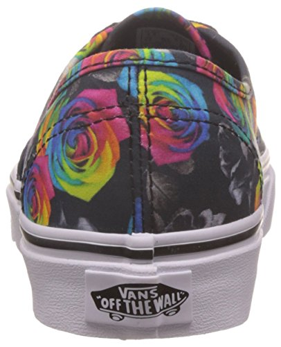 Vans Authentic, Baskets Basses Mixte Adulte (rainbow floral