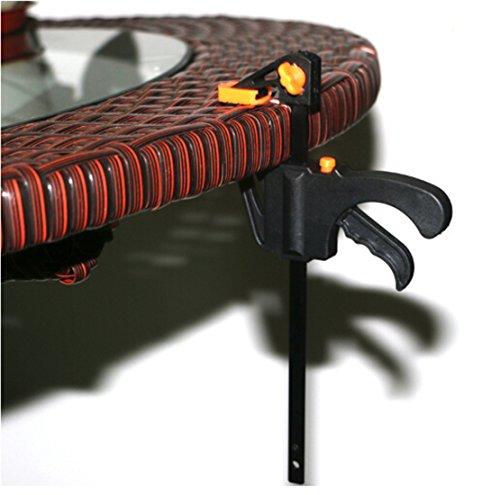 Ratchet Kostüm - SUNMUCH 4-Zoll-Holzbearbeitung Bar Clamp Schnell Ratchet Startdrehzahl Squeeze-F-Clip-Handbuch Spreader Gadget DIY Handwerkzeug