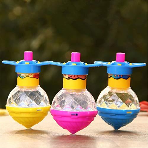 only y Nur y Flash LED Licht Kreisel Laser Gyroskop Leuchten Spielzeug Kinder Spielzeug Parteibevorzugung ()