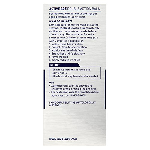 Image of Nivea Men Active Age Double Action Aftershave Balm - 75 ml
