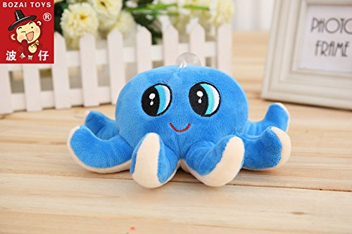 Skkylofts 18cm Cute Octopus Soft Stuffed Toy Sea Animal Fish Kids Baby Birthday Gift