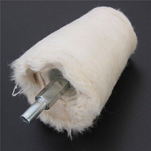 Saver 50mm Kegel Buff Polieren Polierscheibe Flanell Polierscheibe Schleifwerkzeug