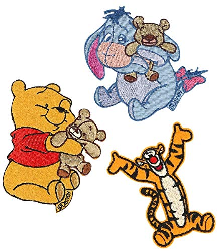 Winnie the Pooh Patch-Set Patch Mehrfarbig -